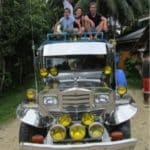 le Jepney transport traditionnel des Philippines